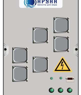 промышленный фильтр озонатор Аруан