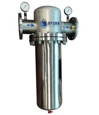 Промышленный фильтр грубой очистки воды Аруан ГФ 120 – (150-200 м3/час, Ду 150мм)