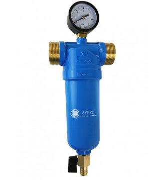 Промышленный фильтр тонкой механической очистки воды Аурус 4 - 60 л/мин