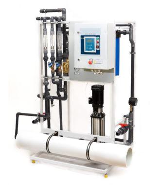 Промышленный обратный осмос RO-1/8040 - 1000 литров в час
